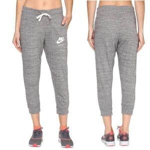 Nike Gray Capri Joggers